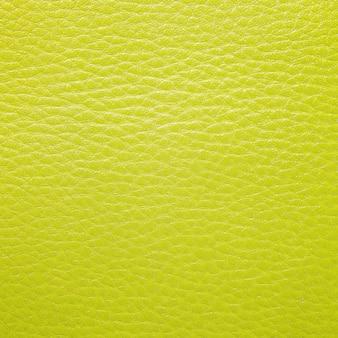 Textura de couro amarelo para o fundo