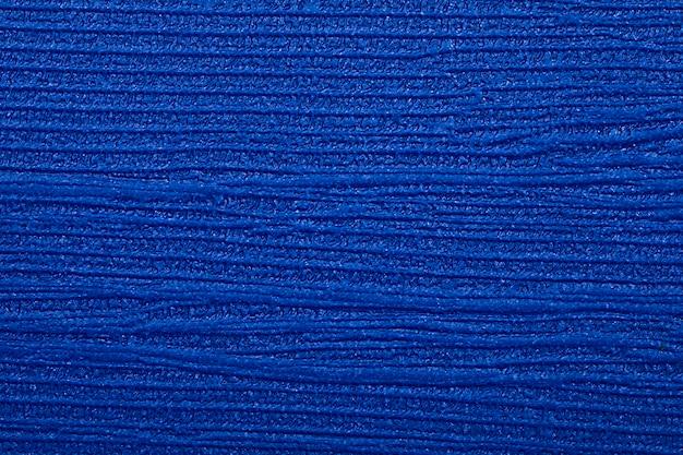 Textura de couro azul e fundo