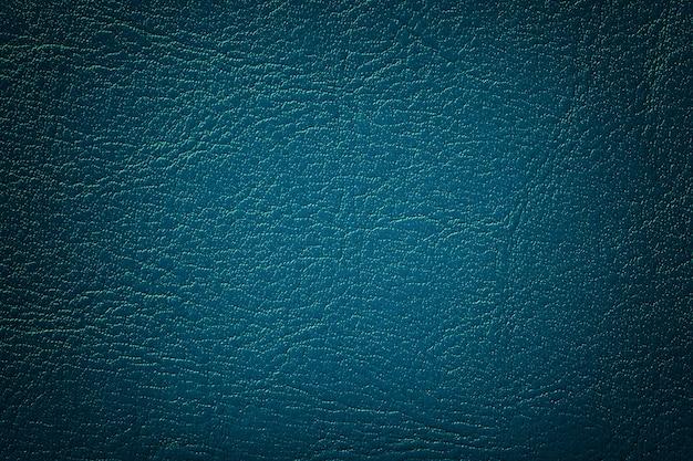Textura de couro azul marinho escuro