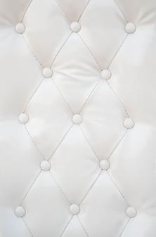Textura de couro branco