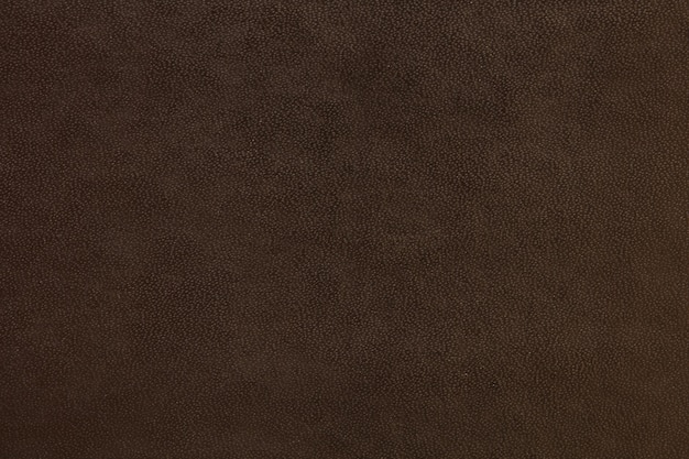 Textura de couro fundo marrom escuro