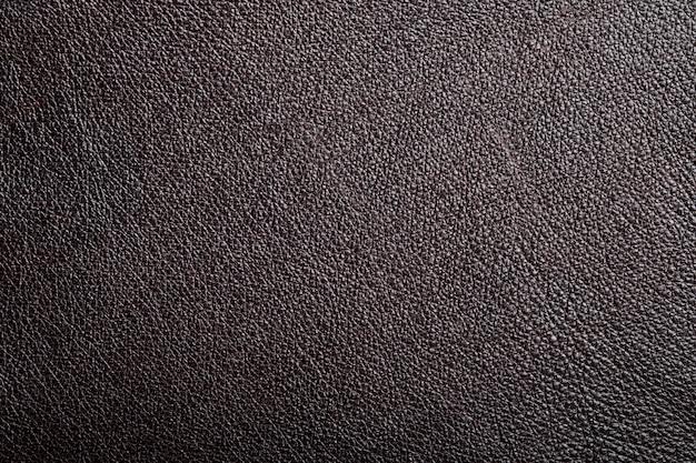 Textura de couro genuíno marrom
