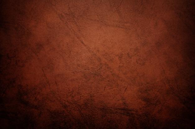 Textura de couro marrom e fundo