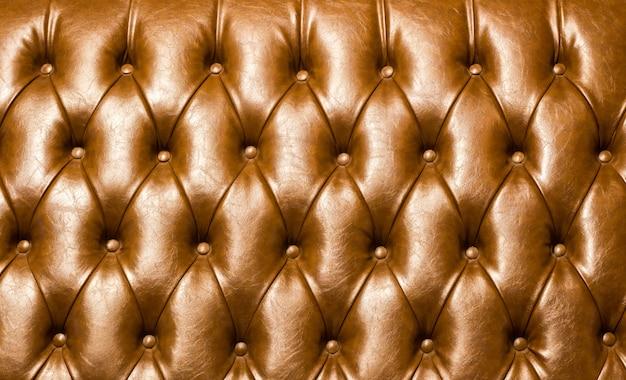 Textura de couro marrom luxo sofá