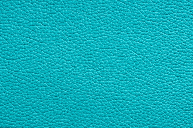 Textura de couro natural turquesa