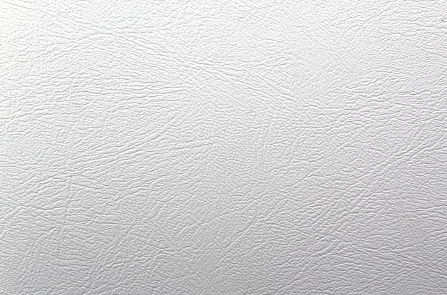 Textura de couro ondulado branco.