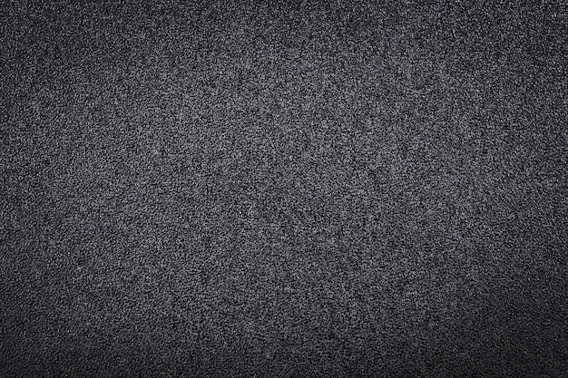 Textura de couro preta para plano de fundo