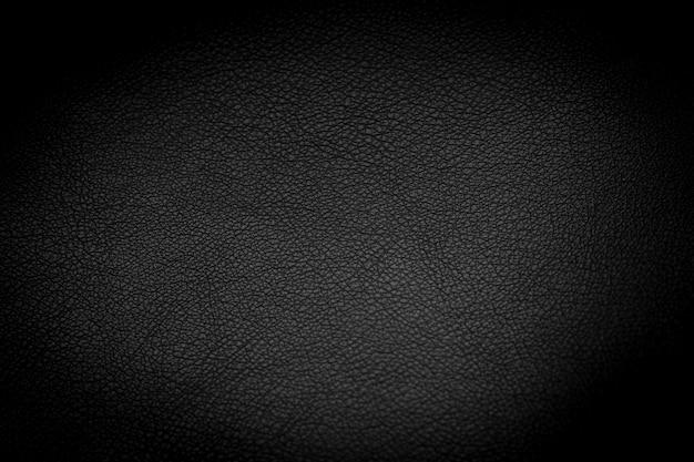 Textura de couro preto de luxo