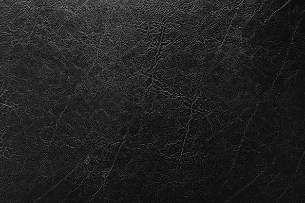 Textura de couro preto, fundo de textura de couro preto antigo