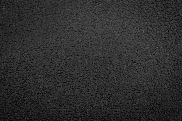 Textura de couro preto luxuosa