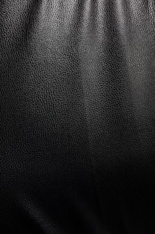 Textura de couro preto