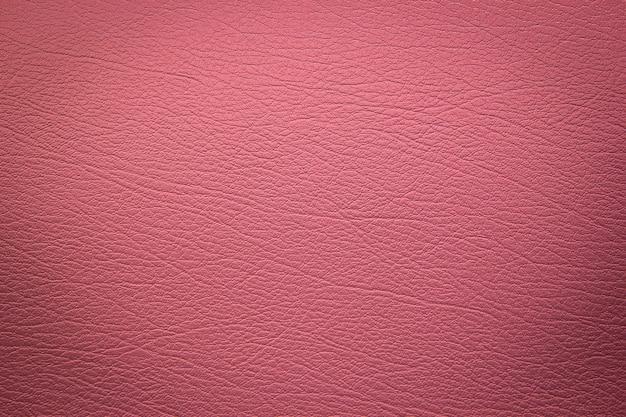 Textura de couro rosa