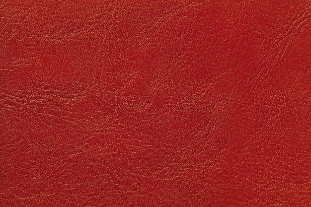 Textura de couro vermelho escuro