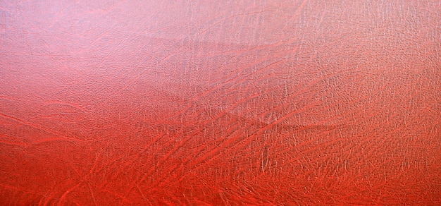 Textura de couro vermelho, fundo abstrato vintage. fechar-se.