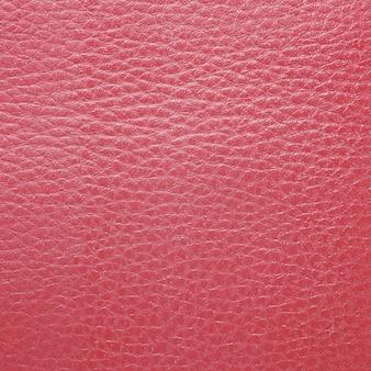 Textura de couro vermelho