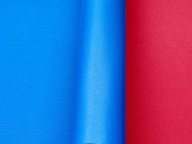 Textura de esteira de esportes de borracha azul, pano de fundo abstrato