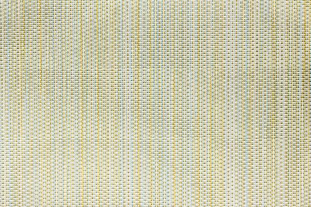 Textura de esteira de fibra de vidro amarela pode ser usada para cortina vertical
