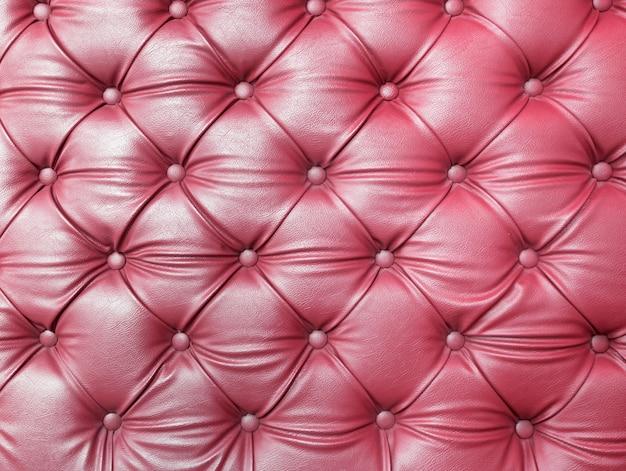 Textura de estofos de tecido capitone roxo tufado