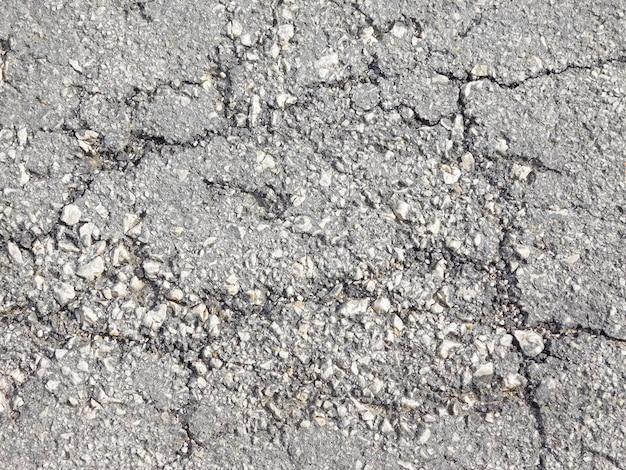 Textura de estrada cinza