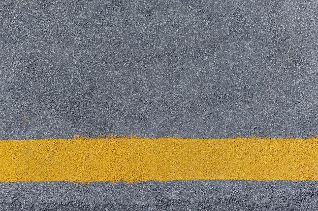 Textura de estrada closeup, vista superior