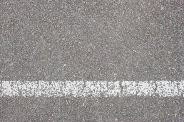 Textura de estrada velha closeup, vista superior