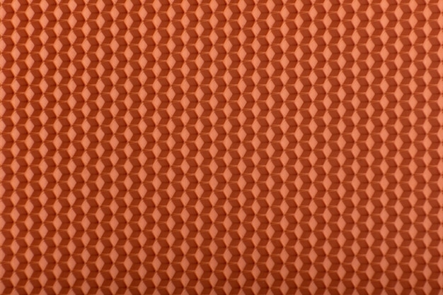 Textura de favo de mel. geométrico laranja