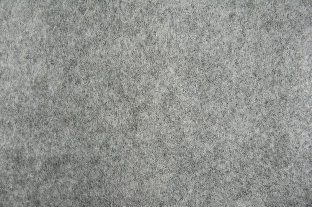 Textura de feltro cinza para plano de fundo