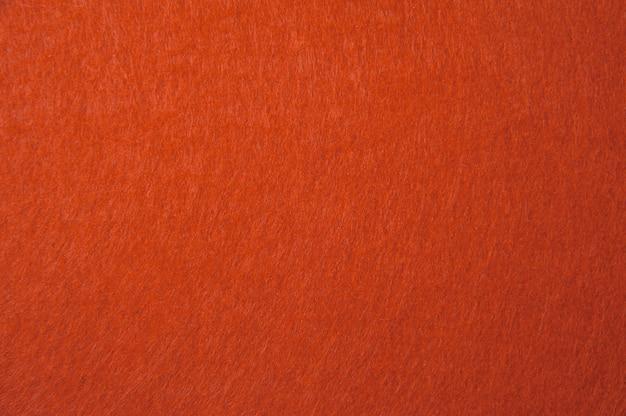 Textura de feltro laranja para plano de fundo