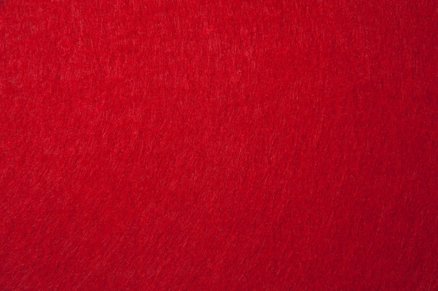 Textura de feltro vermelha para o fundo