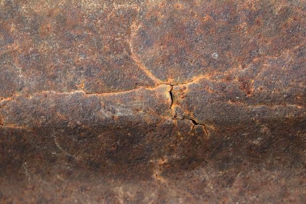 Textura de ferro zinco enferrujada e danificada