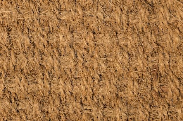Textura de fibra natural de coco