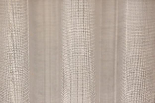 Textura de fibras têxteis tecidas e onduladas