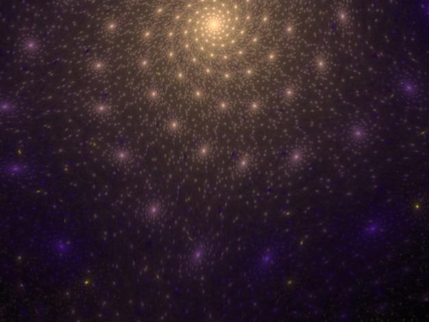 Textura de fractal exuberante imaginativa gerado imagem abstrato