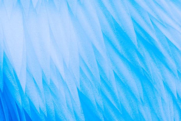 Textura de fundo abstrato de penas azuis