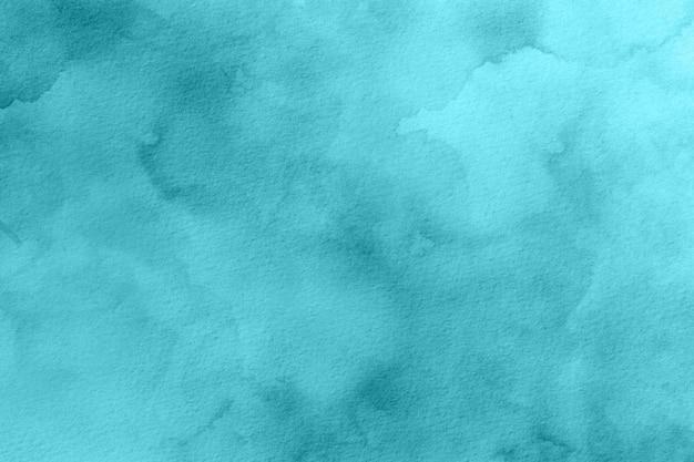 Textura de fundo aquarela turquesa
