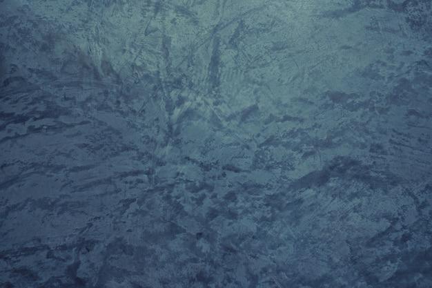Textura de fundo azul argamassa, parede azul, argamassa de crack, rachar o fundo da parede, textura concreta