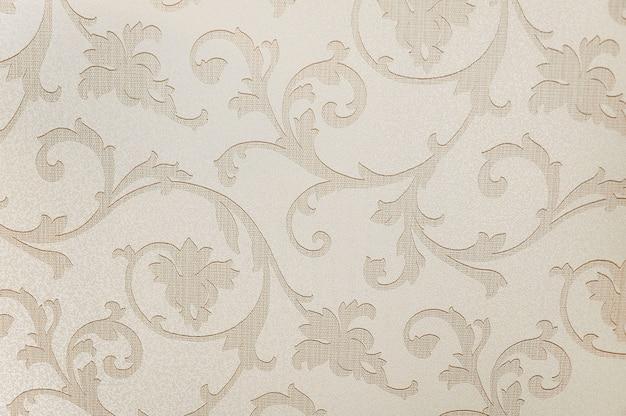 Textura de fundo bege papel de parede floral
