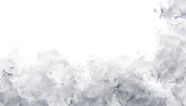 Textura de fundo cinza aquarela