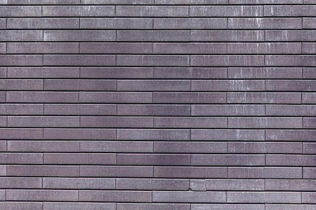 Textura de fundo cinza de parede de tijolo