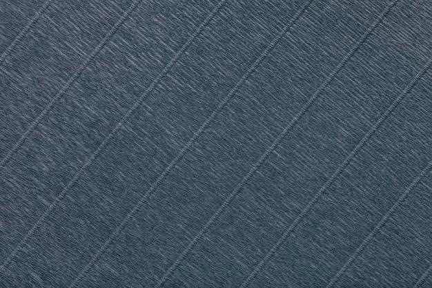 Textura de fundo cinza escuro de papel ondulado ondulado