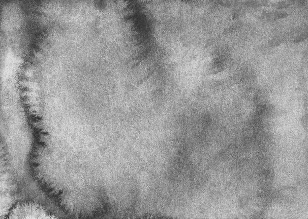 Textura de fundo cinza velho em aquarela. pano de fundo aquarela cinza vintage calmo. pintado à mão.