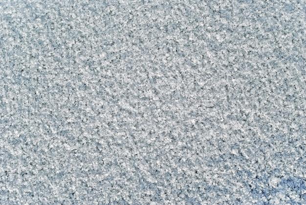 Textura de fundo com superfície macia e fofa de neve recém-caída