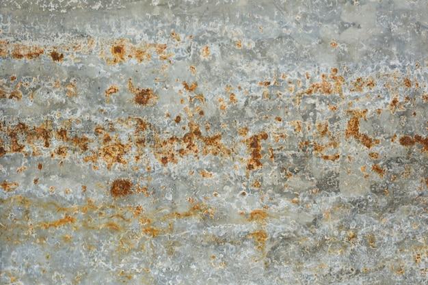 Textura de fundo de aço enferrujado ou zine rústico