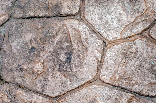 Textura de fundo de azulejo de pedra, piso decorativo
