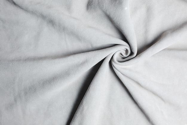 Textura de fundo de camurça branca real Foto Premium