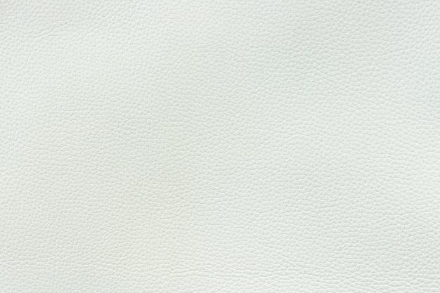 Textura de fundo de couro branco de grão médio