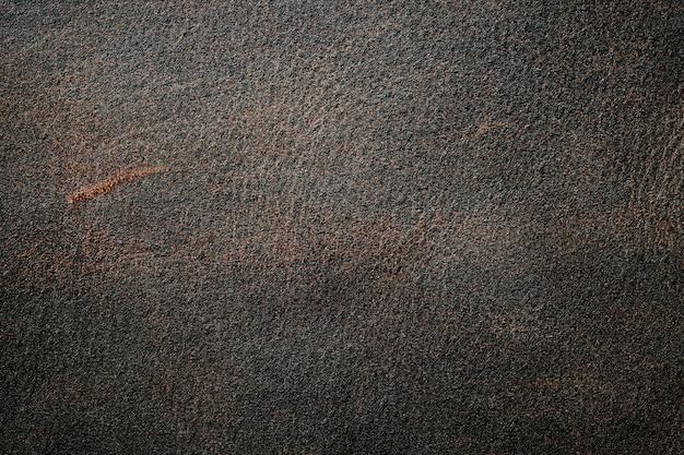 Textura de fundo de couro genuíno, arranhões e arranhões velho