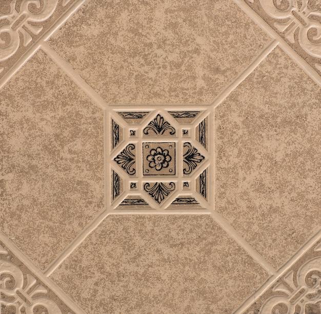 Textura de fundo de ladrilhos ladrilhos de formas geométricas abstratas de mosaico