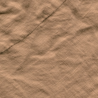 Textura de fundo de lona marrom