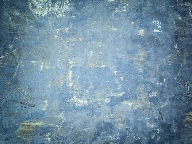 Textura de fundo de madeira gasto velho azul marinho. estrutura de denim vintage pintado com revestimento de madeira com vinheta.